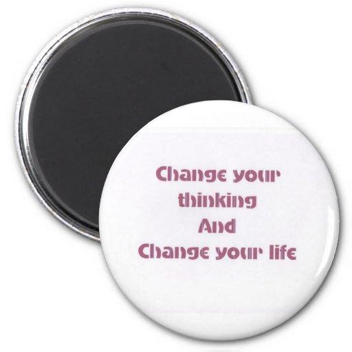 Motivational Phrases Refrigerator Magnets