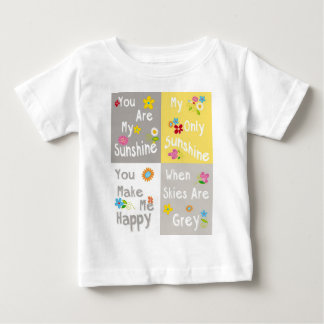 Motivational Phrases Typography - Collage Baby T-Shirt