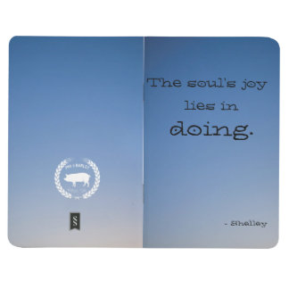 Motivational Poetry Notebook - Shelley