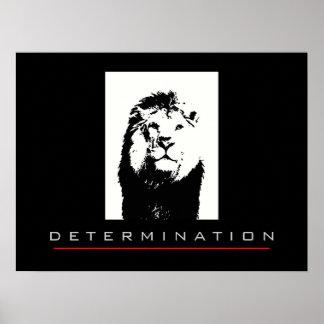 Motivational Pop Art Lion Poster Print