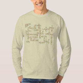 Motivational Positive Affirmation 3D-Text Shirt