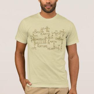 Motivational Positive Affirmation 3D-Text T-Shirt