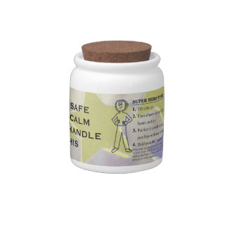 Motivational Positive Confident Thoughts Candy Jar