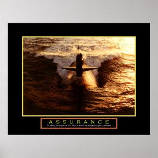"""Motivational Poster - """"Assurance"""" - 22""""x28"""""""