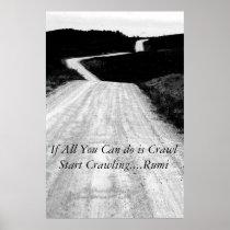 Motivational Poster-Beginnings Poster