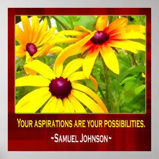 Motivational Poster-Samuel Johnson Quotation Poster