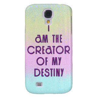 Motivational Quote about Destiny Galaxy S4 Case