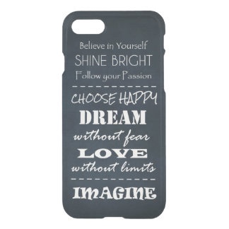 Motivational Quote Affirmations iPhone 8/7 Case