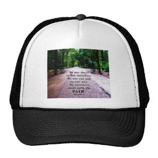 Motivational Quote Buddha inspirational Trucker Hat