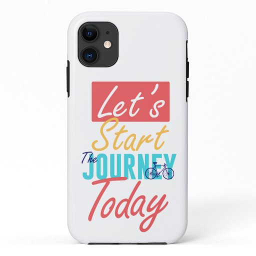 motivational quote iPhone 11 case