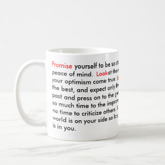 Motivational Quote Coffee Mug