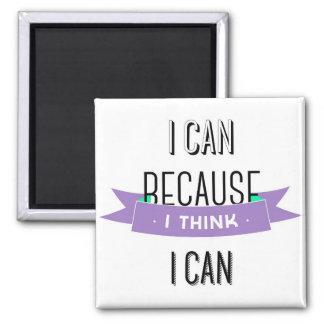 Motivational quote Magnet