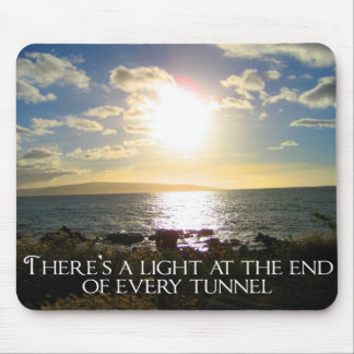 Motivational Quote Mouse Pad