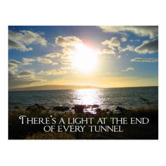 Motivational Quote Postcard