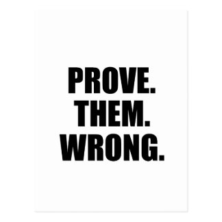 Prove Them Wrong Quotes Simple Prove Them Wrong Cards  Greeting & Photo Cards  Zazzle