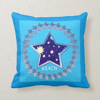 "Motivational"" Reach for the stars"" Pillow"