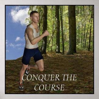 Motivational Running Poster