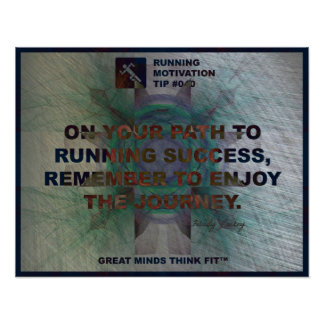 Motivational Running Quote #040 Poster