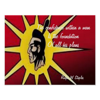 Motivational sayings posters-first nations poster