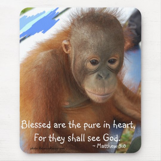 Motivational Scriptural Blessings Mouse Pad
