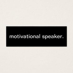 Motivational speaker business cards templates zazzle motivational speaker business card colourmoves