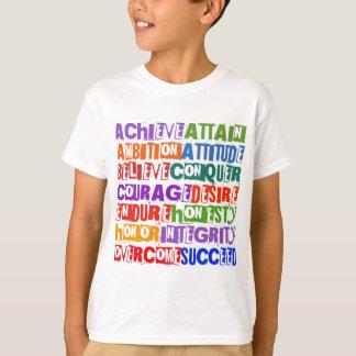 Motivational Text T-Shirt