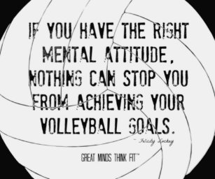 Inspirational Volleyball Quotes Gifts on Zazzle