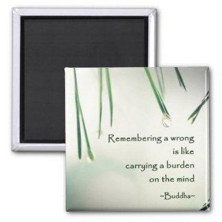 Motivational Wisdom Buddha's Teaching Photography Magnet