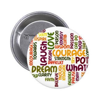 Motivational Words #1 badge Button