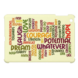 Motivational Words #1 positive encouragement Cover For The iPad Mini