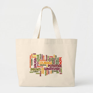 Motivational Words #1 Positive Influence! Jumbo Tote Bag