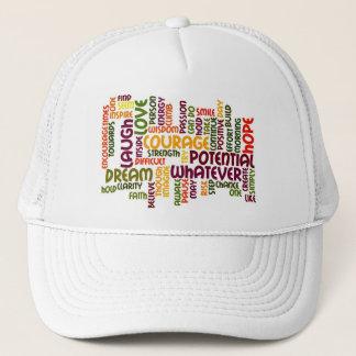 Motivational Words #1 truckers hat