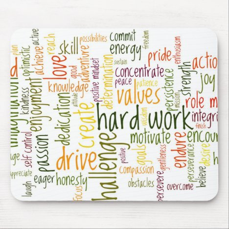 Motivational Words #2 mousepad