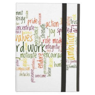 Motivational Words 2 positive attitude iPad Case