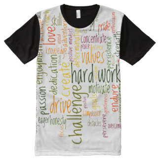Motivational Words #2 positive encouragement All-Over Print T-shirt