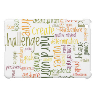 Motivational Words #2 positive itude iPad Mini Covers