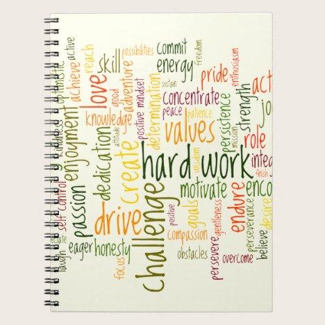 Motivational Words #2 positive placebo effect Notebook