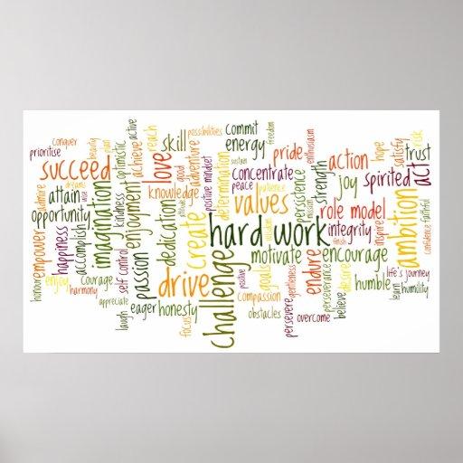 Motivational Words #2 Print