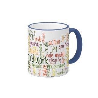Motivational Words #2 ringer mug