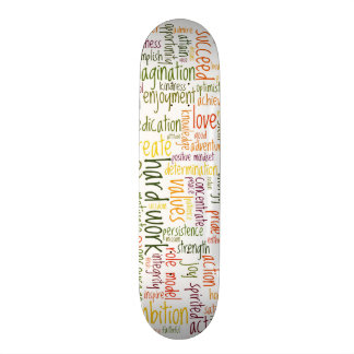 Motivational Words #2 skatedecks Skateboard