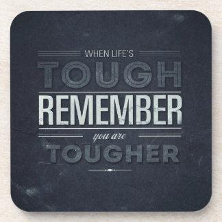 Motivational Words Coaster