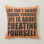 Motivational Words - Create Yourself Pillows