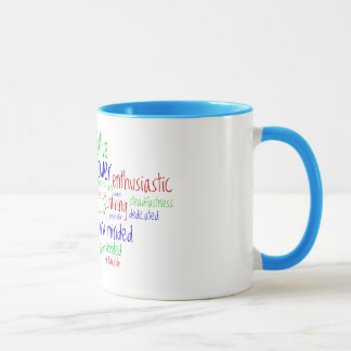 Motivational Words for New Year, Positive Attitude Mug