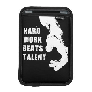 Motivational Words - Hard Work Beats Talent Sleeve For iPad Mini