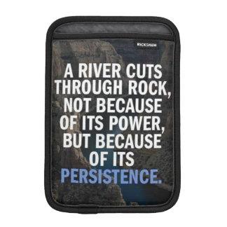 Motivational Words iPad Mini Sleeves