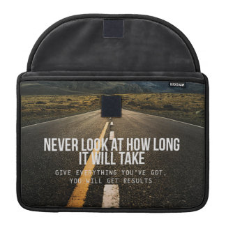 Motivational Words Sleeve For MacBook Pro