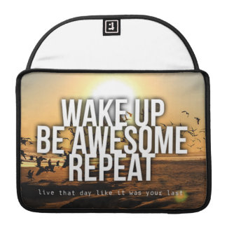 Motivational Words Sleeves For MacBook Pro