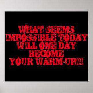 Motivational Workout Poster