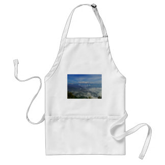 Motivational Zen Proverb about Challenges Adult Apron