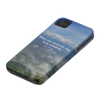 Motivational Zen Proverb about Challenges iPhone 4 Cover
